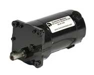 DP30 fractional horsepower permanent magnet DC (PMDC) custom parallel shaft inline gear motors