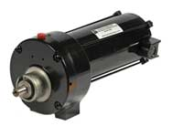 Series DP500 fractional horsepower permanent magnet DC (PMDC) custom inline parallel shaft gear motors