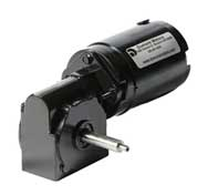 Series DR60 custom permanent magnet DC right angle gear motors